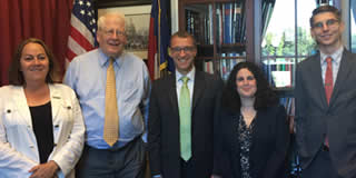 Thanking Rep. David Price (D-NC) for his leadership preventing cuts to geoscience research at NSF.