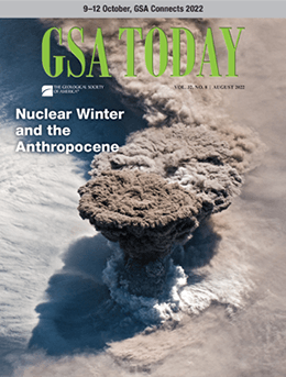 GSA Today cover image