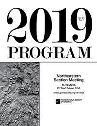 Northeastern Meeting program cover
