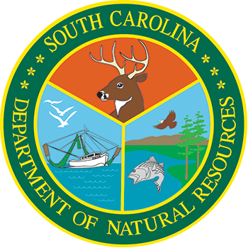 South Carolina Department of Natural Resources logo.