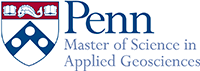 PENN Master of Science in Applied Geosciences.