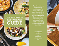 Downtown Provo Restaurant Guide cover